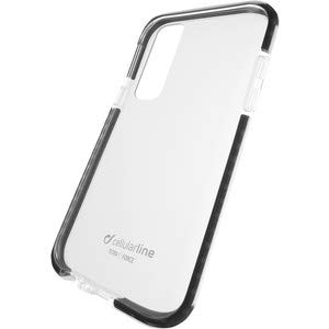 Cellularline TETRACGALA72018T Funda para teléfono móvil 15,2 cm (6') Negro, Transparente