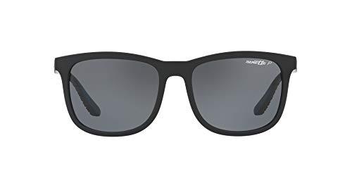 Arnette Chenga, Gafas de Sol para Hombre, Negro (Matte Black), 56