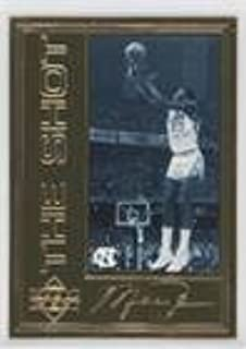 Michael Jordan #/10,000 (Basketball Card) 1997 Upper Deck Authenticated - Michael Jordan 22 kt. Gold Photo Cards #MIJO.3