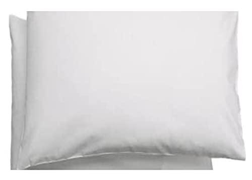 Set de 2 taies d'oreiller Ikea Len - Pour enfant - 100% coton - Blanc - 35 x 55 cm