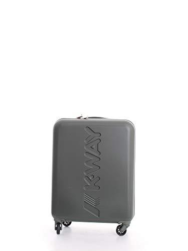 K-WAY TROLLEY Cabin Trolley 55x40x20 cm 2,8 kg UNISEX Mod. K111JMW K-AIR CABIN 906 A5 ARMY U