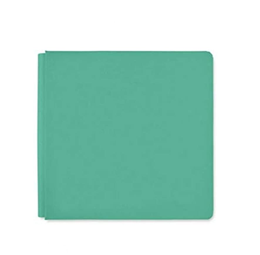 12x12 Jade Light Green Blend & Bloom Album Book Cloth Cover by Creative Memories