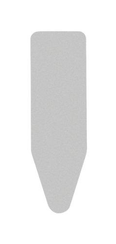 Brabantia 317309 Housse de Repassage Coton Métallisé / Mousse 2 mm Gris