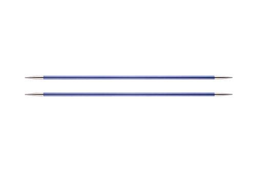 Knit Pro 15 cm x 4,50 mm Aluminio Zing de Tejer de Doble Punta para, Morado