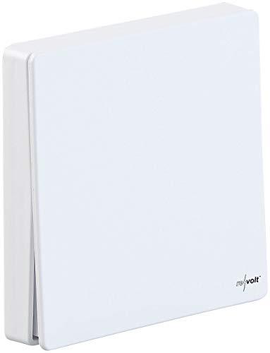 revolt Lichtschalter Aufputz: Kinetischer Funk-Schalter KFS-200.s für Empfänger KFS-200.rc, 15 m (Kinetischer Funkschalter)