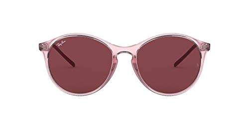 Ray-Ban Damen RB4371-640075 Sonnenbrille, Pink (Rosa/Transparente), 0