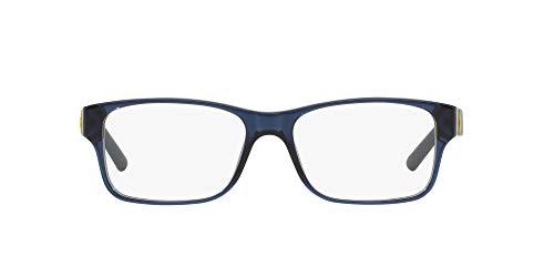 Ralph Lauren Men's 0PH2117 Eyeglass Frames, Navy Blue, 54