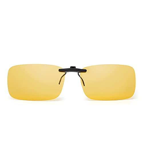 ShFhhwrl Clásico Gafas De Sol Gafas De Sol Polarizadas con Clip para Mujer Y Hombre, Gafas De Sol para Gafas Graduadas Uv400 C4Ye