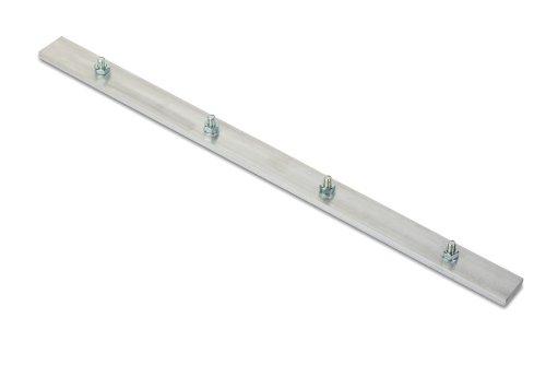 NOOR Verschlussschiene für Wurzelblocker - Rhizomsperre 70cm I 3mm Dicke Aluminiumschiene - schützt den Garten vor Schäden