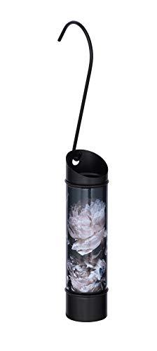 WENKO 50395100 Peony - Humidificador redondo para calefacción, color negro