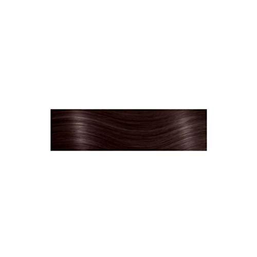 Socap She Hair Extensions Tressen von Echthaar Glatt 55–60cm 10PCS COL 6, Hellbraun