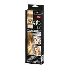 Schwarkopf Magic Hair Naturblond 3 Haarteile zur Verländerung oder um dem Haar mehr Fülle zu geben incl. Haarklammer. NEU!