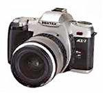 Pentax MZ-7 Spiegelreflexkamera (nur Gehäuse)