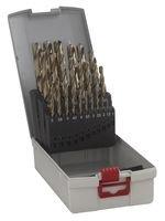 Bosch 2608587017 Assortiment ProBox de forets à métaux rectifié HSS-G DIN 338