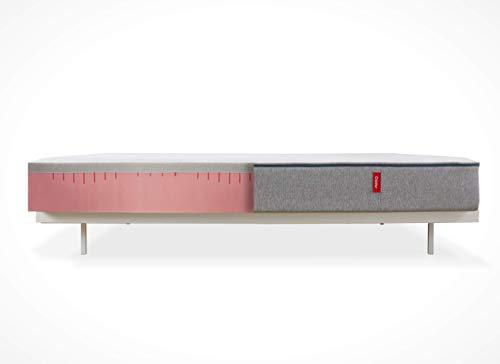 Cadar The Mattress, Original Matratze aus Graphit-Memory-Schaumstoff mit hoher Dichte, Kissen kostenlos, 90x200 cm