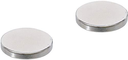 Kraftmann 79911 | Jeu d'aimants | extrapuissants | Ø 18 mm | 2 pièces