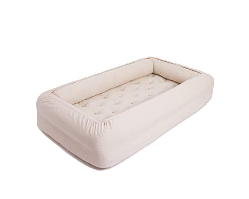 Cheapest Prices! Home of Wool Montessori Bed Mattress, Toddler Mattress with Bumpers + Including Sle...