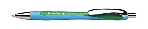Dlugopis automatyczny Schneider Slider Rave, XB, zielony
