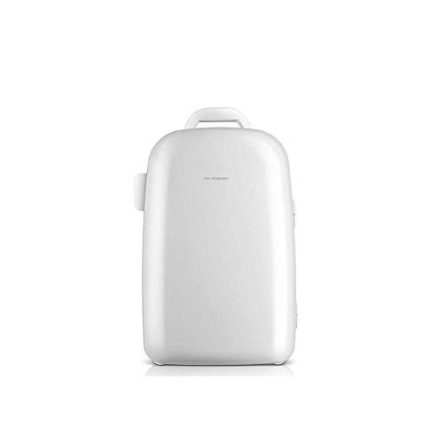 Mini koelkast 12v 220v, 28L Electric Cool Box Car koelkast, 28L grote capaciteit warm en koud for tweeërlei gebruik geschikt for auto en Thuis (Kleur: wit) LOLDF1