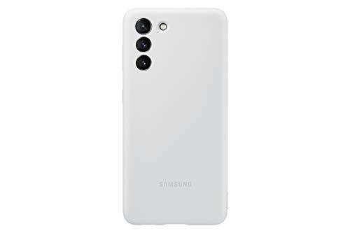 Samsung Cover in silicone per Galaxy S21 5G (2021), Light Gray
