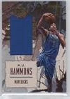 A.J. Hammons (Basketball Card) 2016-17 Panini Court Kings - Art Nouveau Jerseys #31