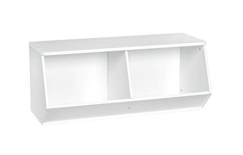 ClosetMaid 1621 KidSpace Angled Organizer, White