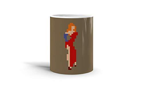 Ceramic Coffee Mug Comic Strip Cup Jessica Rabbit Pixel Art Comics Comedian Drinkware Super White Mugs Family Gift Cups 11oz 325ml