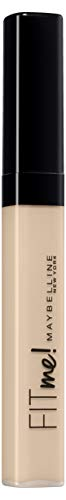 Maybelline New York Abdeckstift, Fit Me! Concealer, Für makellose Haut, Alle Hauttypen, Nr. 03 Porcelain, 6,8 ml
