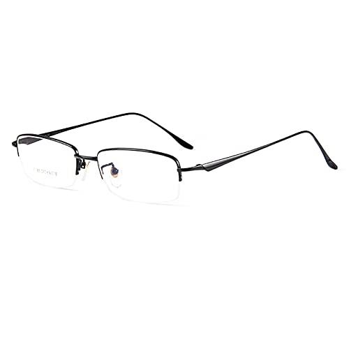 EYEphd Gafas de Lectura para Hombre, Gafas de Sol fotocromáticas Inteligentes para Exteriores / UV400, Montura de Titanio Puro Ultraligero Aumento +1.0 a +3.0,Negro,+3.0