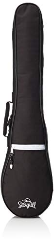 Seagull Merlin Black Gig Bag with Logo by Seagull