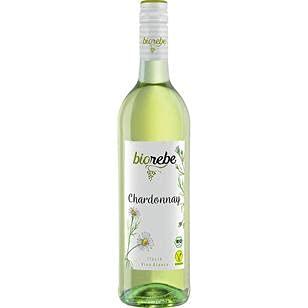 BioRebe Chardonnay Weißwein trocken IGP, 6er Pack (6 x 0.75l)