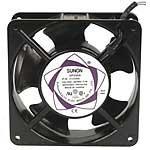 SUNON DP200A-2123XBL-ROHS - Ventilador Tubular de 220 Vac, 117 CFM, 50 dBA, 120 mm x 120 mm x 38 mm