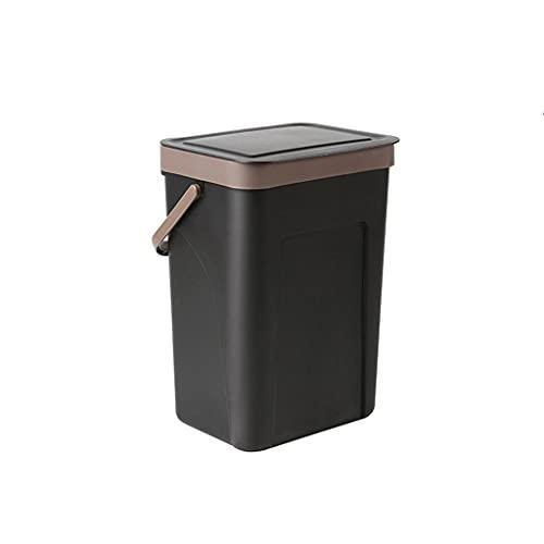 Cubo de Basura La basura de la cocina puede basura de la basura,la clasificación de la clasificación de la cocina de la pared de la paredera puede voltear los accesorios de baños de baños Papelera