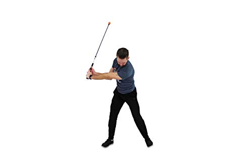 orange whip golf swing trainer 47 adult - orange whip midsize golf swing