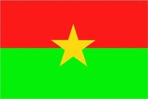Burkina Faso Fahne Flagge Grösse 1,50x0,90m - FRIP –Versand®