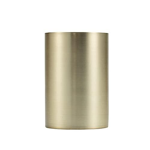 ROSEBEAR Soporte para bolígrafos de escritorio de acero inoxidable para tazas, cuchara y organizador de exhibición