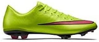 Nike JUNIOR MERCURIAL VAPOR IX FG - (ELCTRC GREEN/HYPR PNCH-BLK-VLT) (6y)
