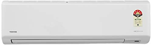 TOSHIBA 1.5 Ton 5 Star Inverter Split AC (Copper, RAS-18N3KCV-IN+RAS-18N3ACV-IN, Gloss White)