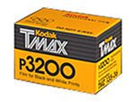 Black-and-white negative film Ideal for indoor or nighttime sports events Designed to be used as a multispeed film Black-and-white continuous-tone panchromatic 36 exposures