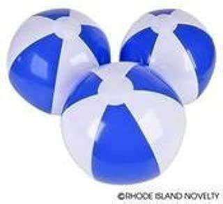 blue and white beach balls