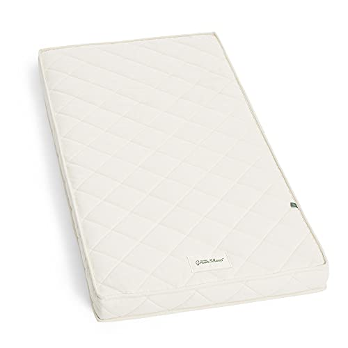 The Little Green Sheep Twist Cot Bed Mattress, Breathable Mattress (for Boori Cot Beds), 77 x 132 cm