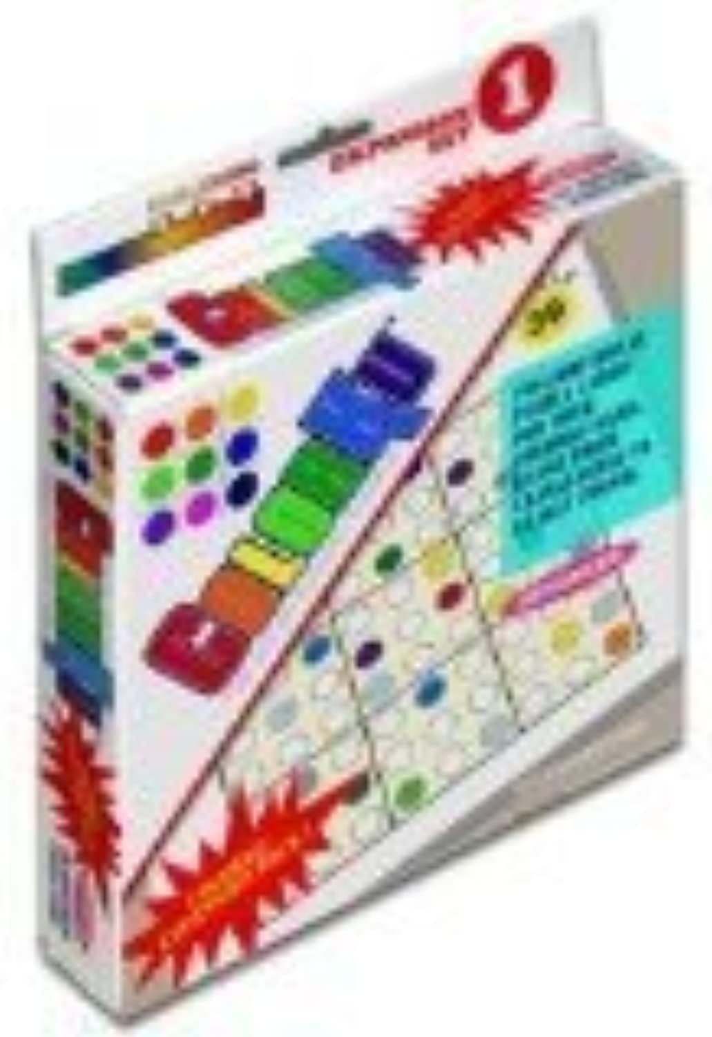 Farbeku Expansion Puzzle Card Pack - Pack 1 by Mad Cave Bird Games