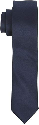 SELECTED HOMME Herren SLHPLAIN TIE 5CM NOOS B Krawatte, Blau (Dark Sapphire Dark Sapphire), One Size