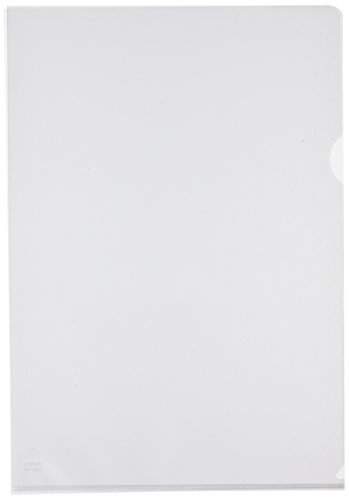Grafoplas 5257070 - Pack de 100 dossiers, folio de color transparente ⭐