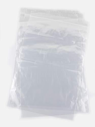 100 Bolsas de 20 x 30 cm, con Auto-Cierre con Cierre hermét