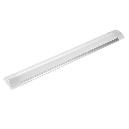 MTX-Racks LED-Reinigungsleuchte, 60 cm 20 W integrierte Röhrenleuchtstofflampe, 2400LM 6000K Tageslicht-Deckenleuchten IP65 wasserdichte Lattenbeleuchtung für Garage Garden Lawn Basketball,Cold White