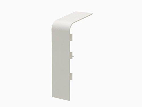 Primo Verbinder für Rohrverkleidungsleiste | 45x110mm | Folie wei