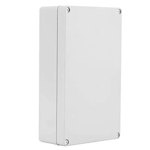 Junction Box IP65 ABS Project Enclosure Case Wiring Connection Box 200 * 120 * 56mm Terminal Box for Control Boxes Cabinets Power