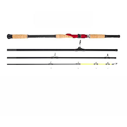 Palo Piatto a Dondolo Lento Pole 1.8/2.1/2.4/2.7/3,0 / Peso ad Estrazione 30-200g 30-200G Spinning/Casting Barca Asta oceanica Canna da Pesca (Color : Spinning 2.7m M MH)