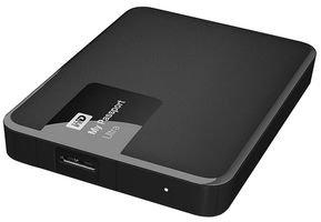 WD My Passport Ultra - Disco Duro Externo portátil de 2 TB (2.5